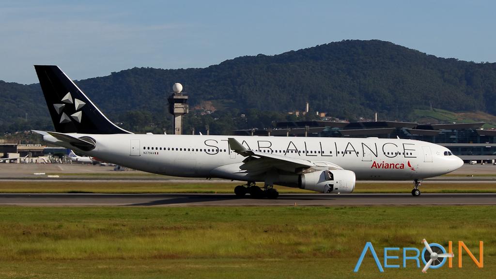 Avianca Airbus A330 Star Alliance