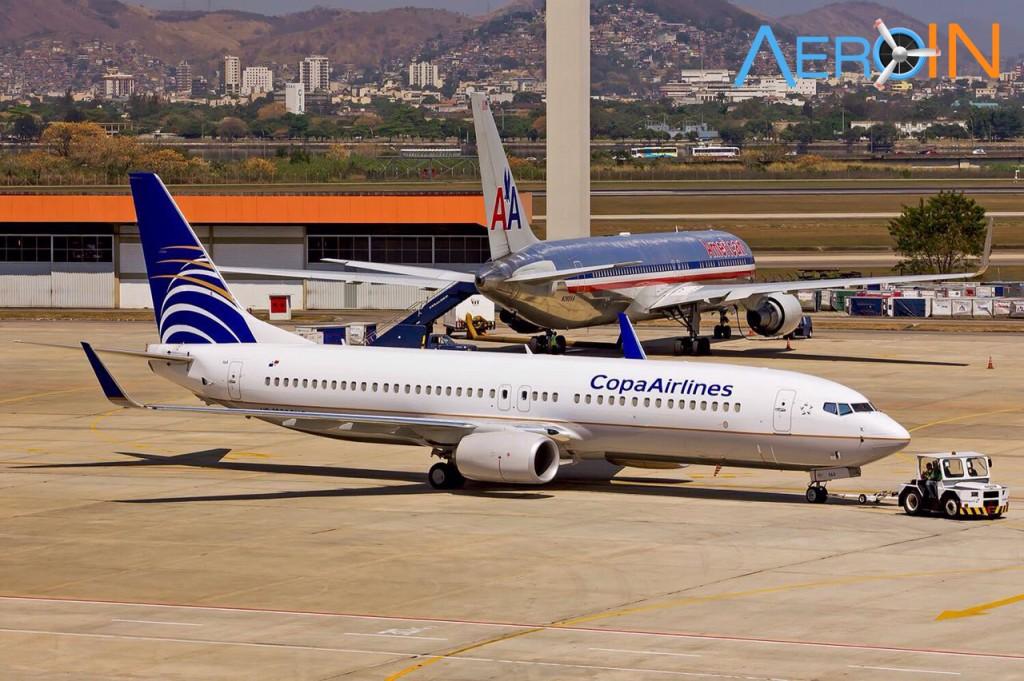 Boeing 737 Copa Rio Galeao GIG