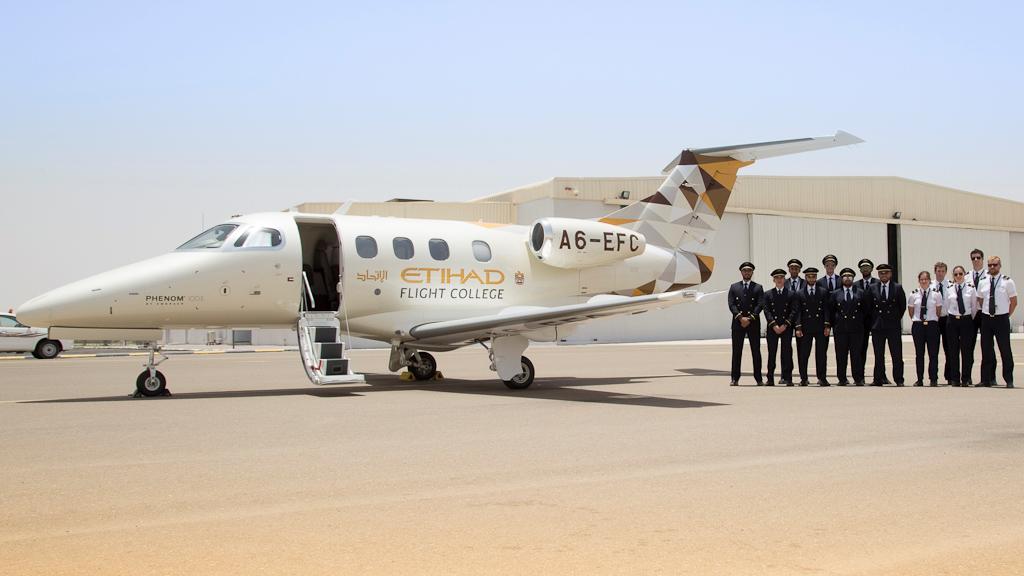 Embraer Phenom 100 Etihad