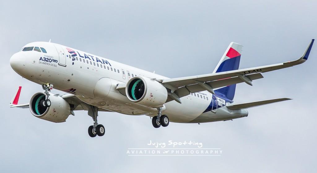 A320neo LATAM jujug