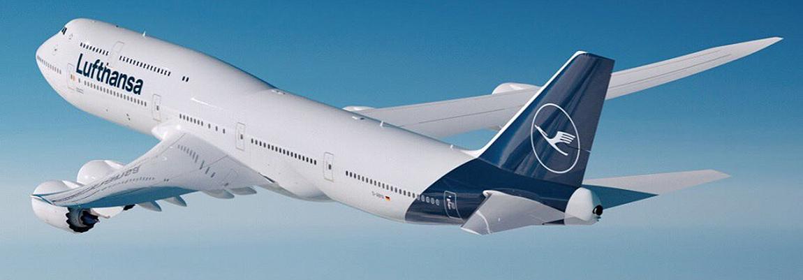 Nova pintura da Lufthansa