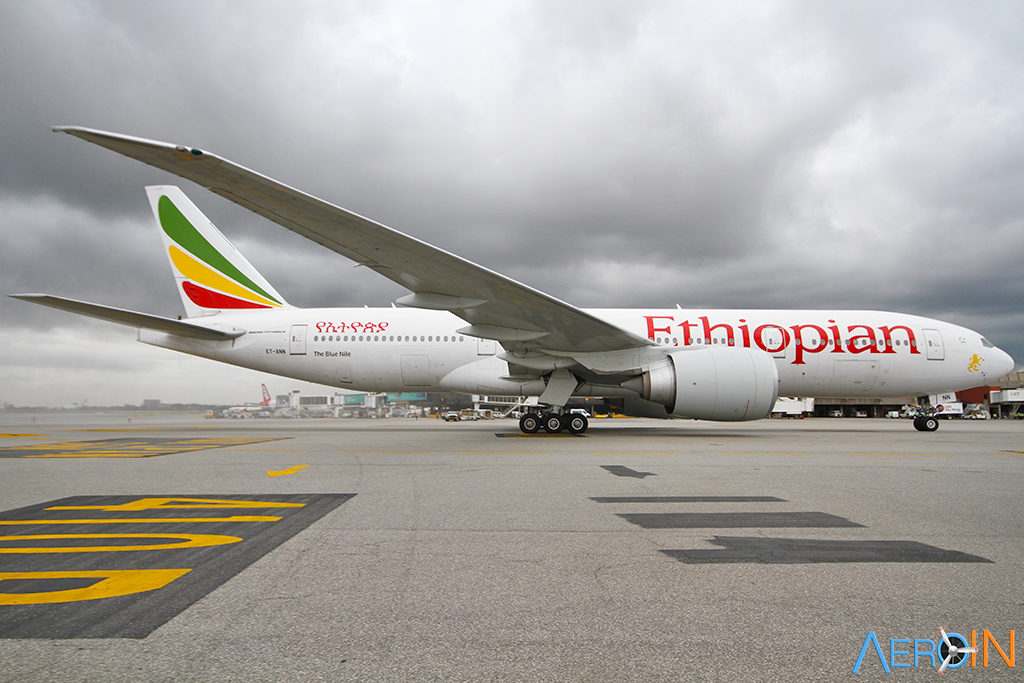 Avião Boeing 777 Ethiopian
