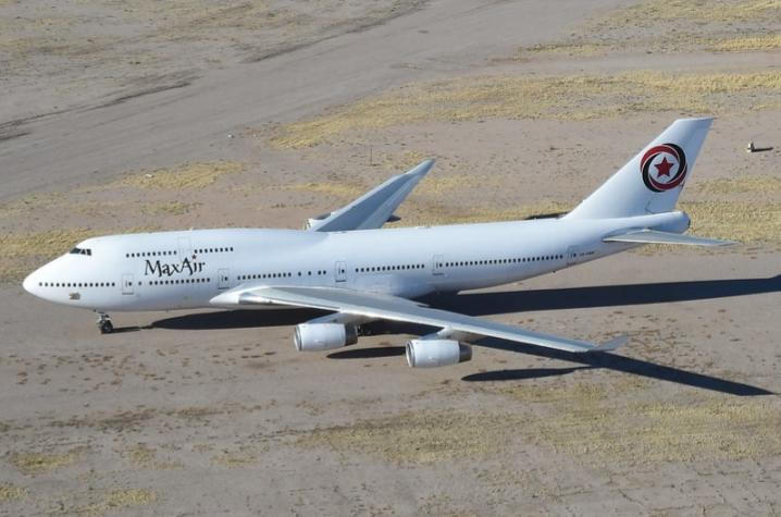 Avião Boeing 747 Max Air