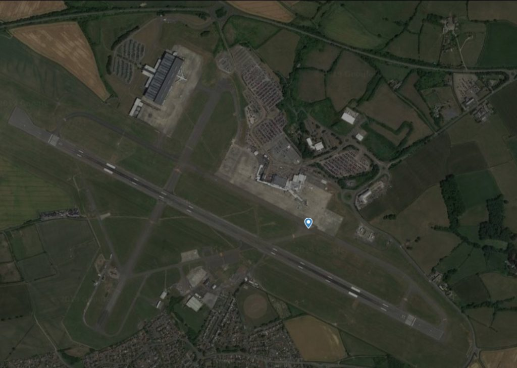 Radar Aeroporto Cardiff British Airways Maintenance Center