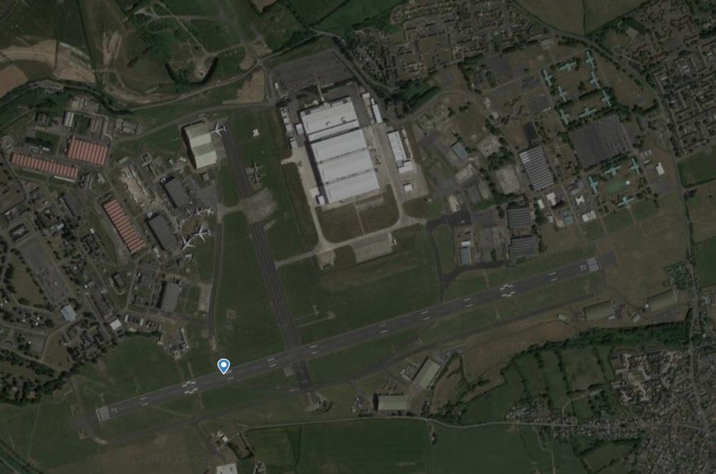 Radar Aeroporto St. Athan Base Aérea