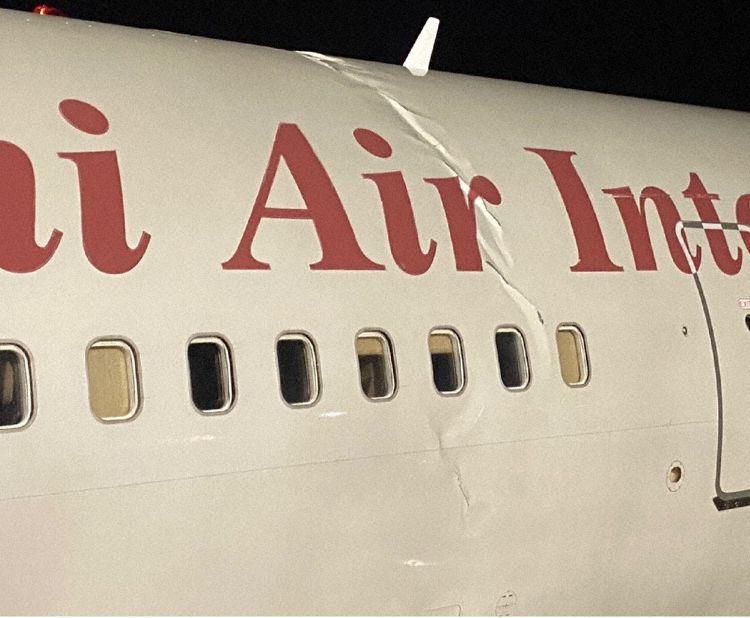 Omni Air Boeing 767 Incidente Pouso Duro Rugas Fuselagem