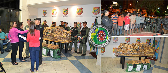 Polícia-Militar-e-Polícia-Federal-prendem-quadrilha-de-traficantes-em-Goiás