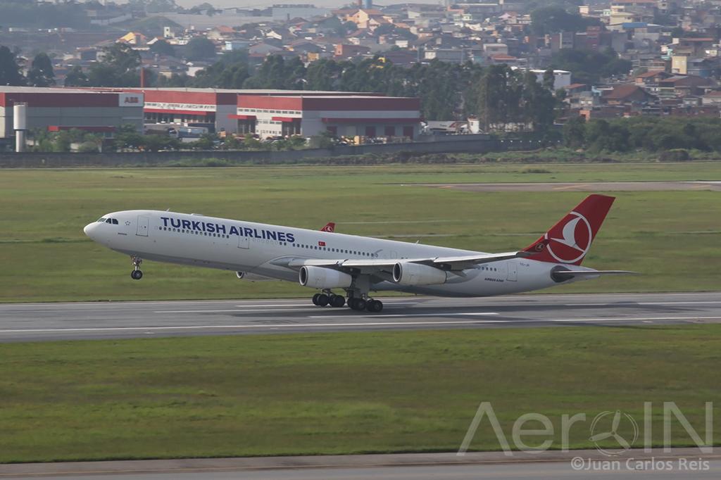 Turkish Airbus A340-300