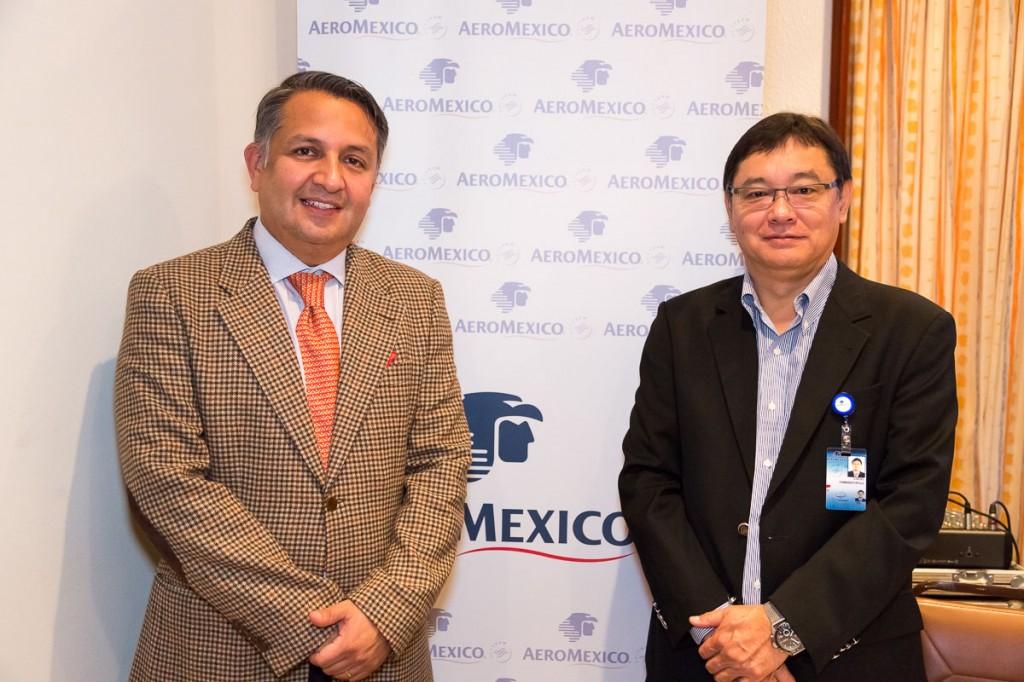 Mario Roras (Diretor de Vendas)  Lucio Yamashitafuji (Gerente Regional América do Sul)