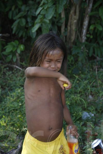 As populações ribeirinhas vivem geralmente da pesca e do cultivo de subsistência e são extremamente pobres, mas como qualquer ser humano do século XXI também têm seu apreço pelos refrigerantes