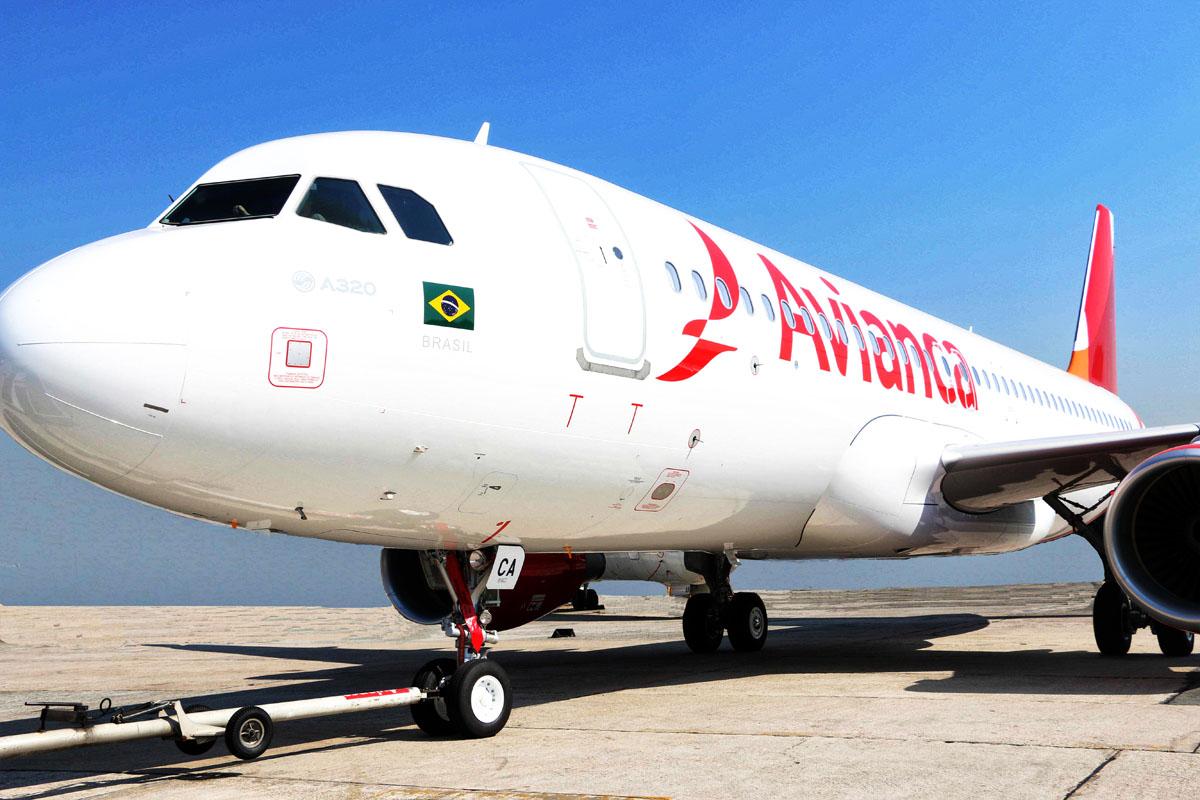 Avianca A320 nova Pintura _ 01 bxa