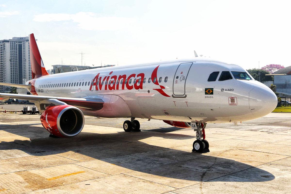 Avianca A320 nova Pintura _ 11 bxa