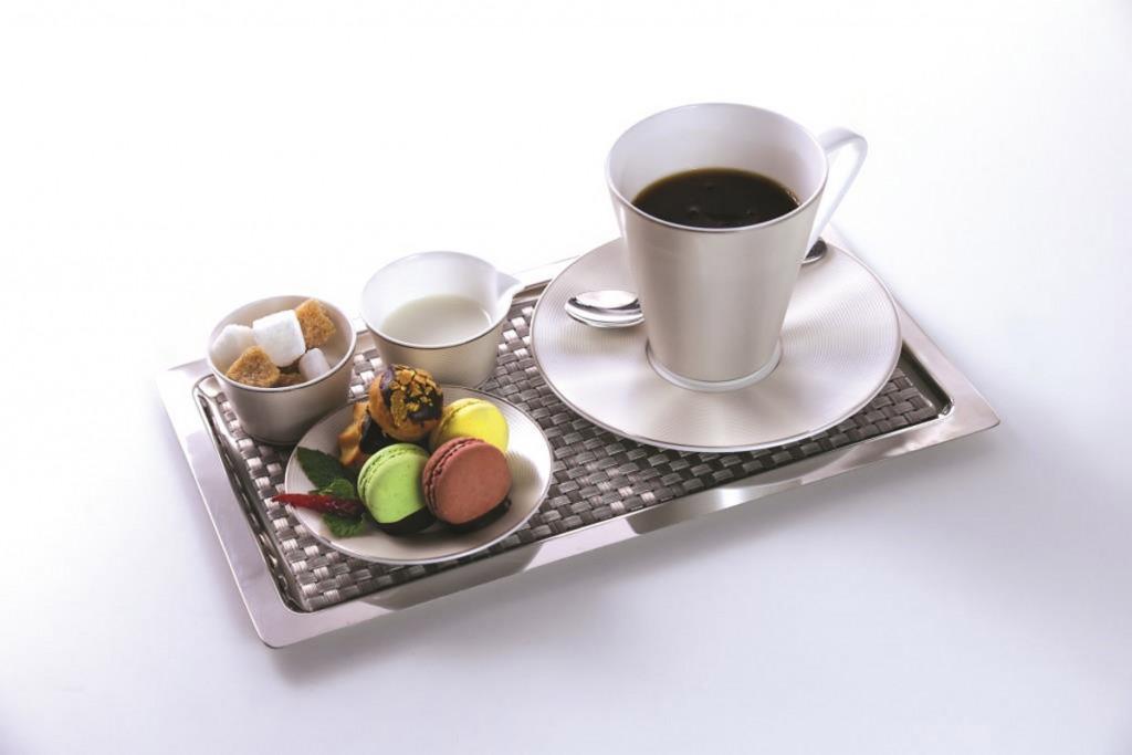 Serviço Café Gourmand na Primeira Classe