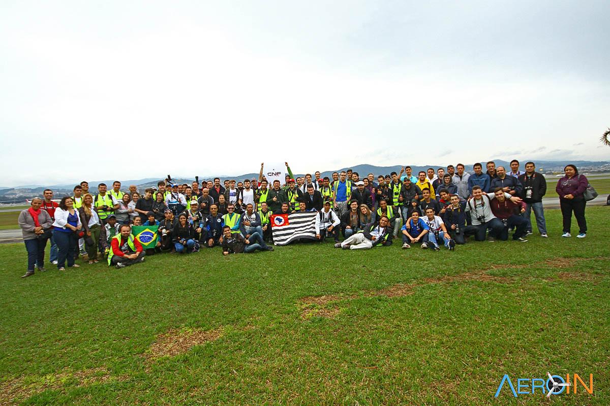 Em 2014, mais de 200 pessoas participaram do evento do AEROIN.
