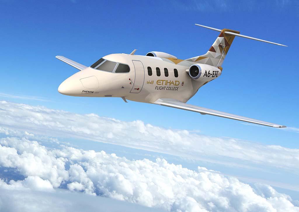 Etihad Flight College - Embraer 100E - LR