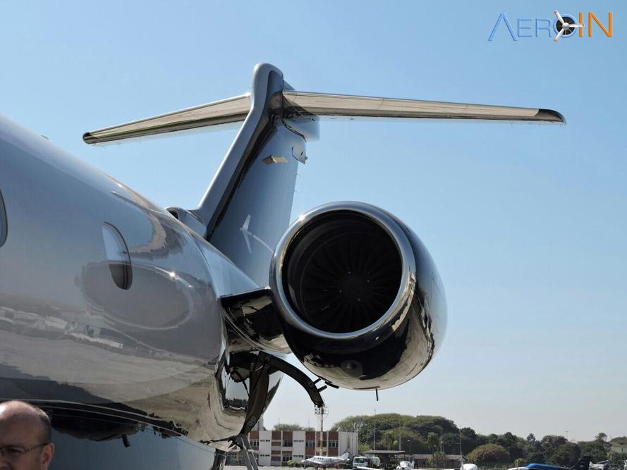 Conhecemos O Embraer Legacy 450 Em Sua Primeira
