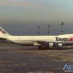 Avião Boeing 747-100 Tower Air