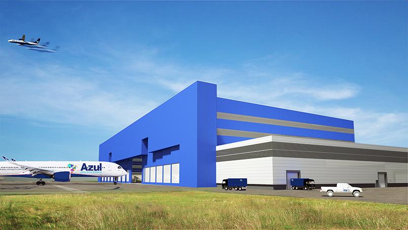 Centro Manutenção Azul Viracopos