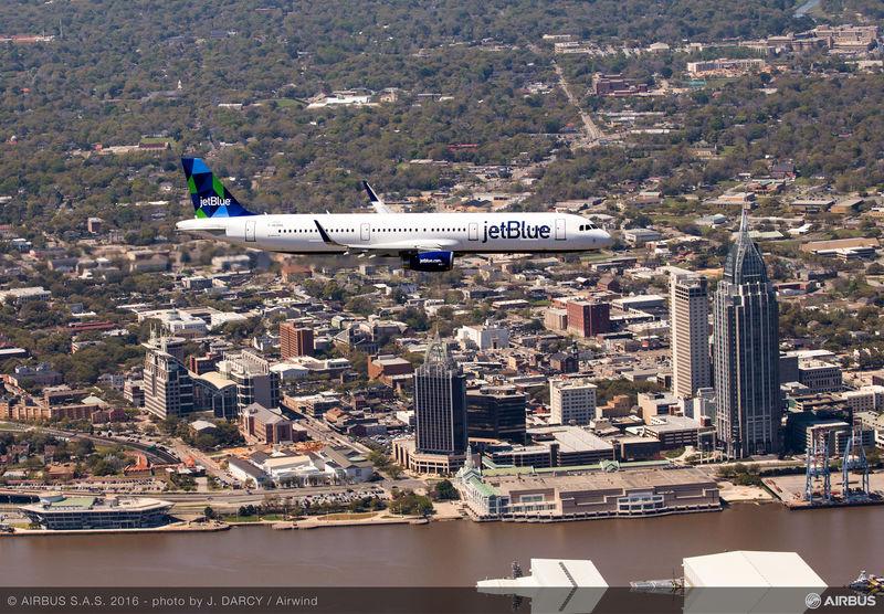 AIRBUS148 - A321 First Flight Jet Blue