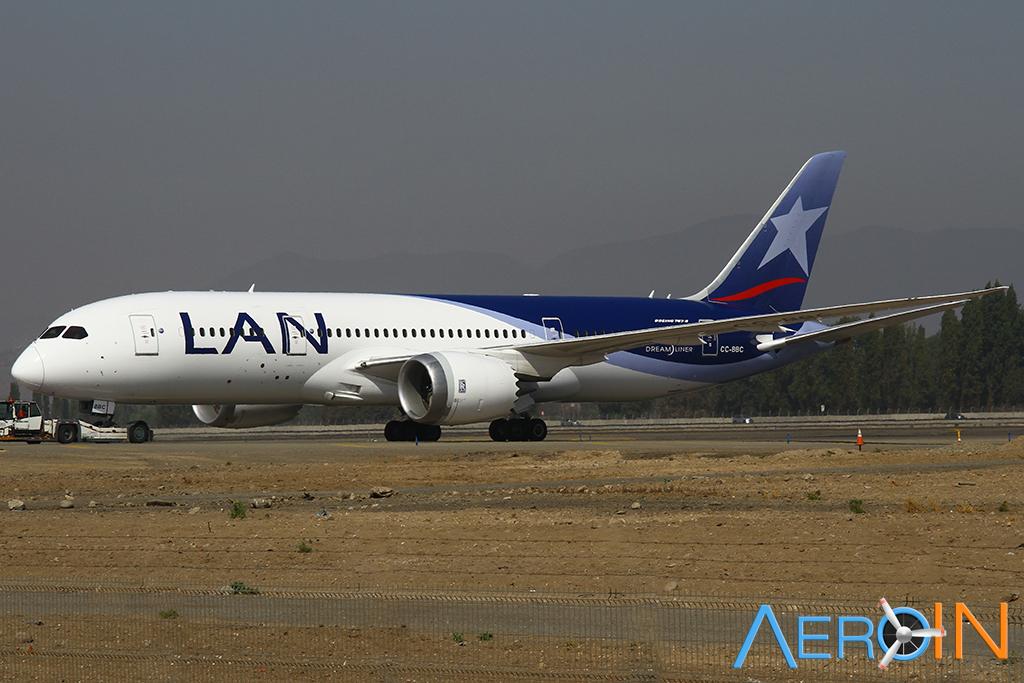 787 LAN Chile Santiago