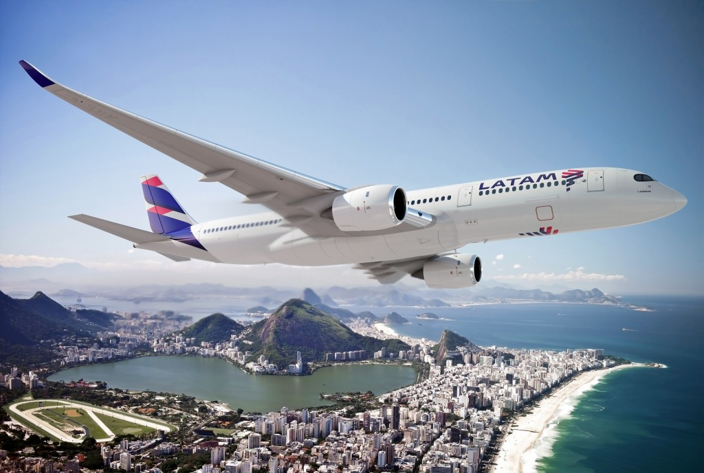 A350 LATAM Rio