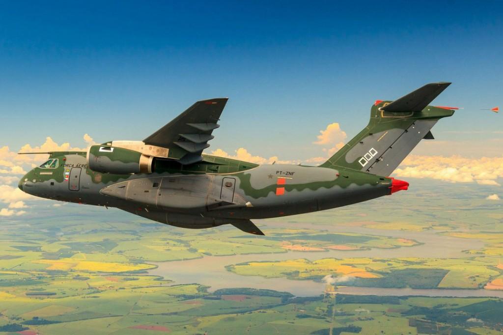 Avião Embraer KC-390 Millennium
