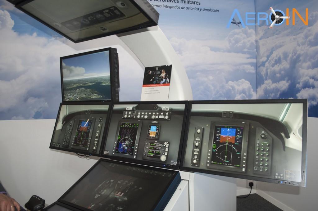 ROCKWELL COLLINS SIMULADOR 1 Virtual Avionics Procedures Trainer