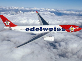 Avião Airbus A330-300 Edelweiss