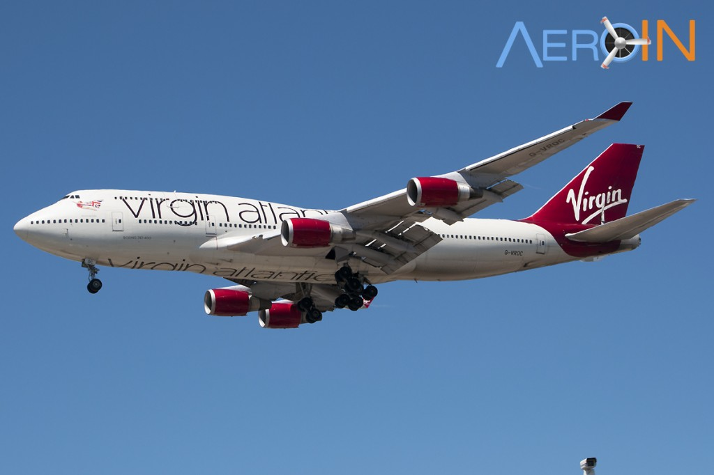 Boeing 747 Virgin