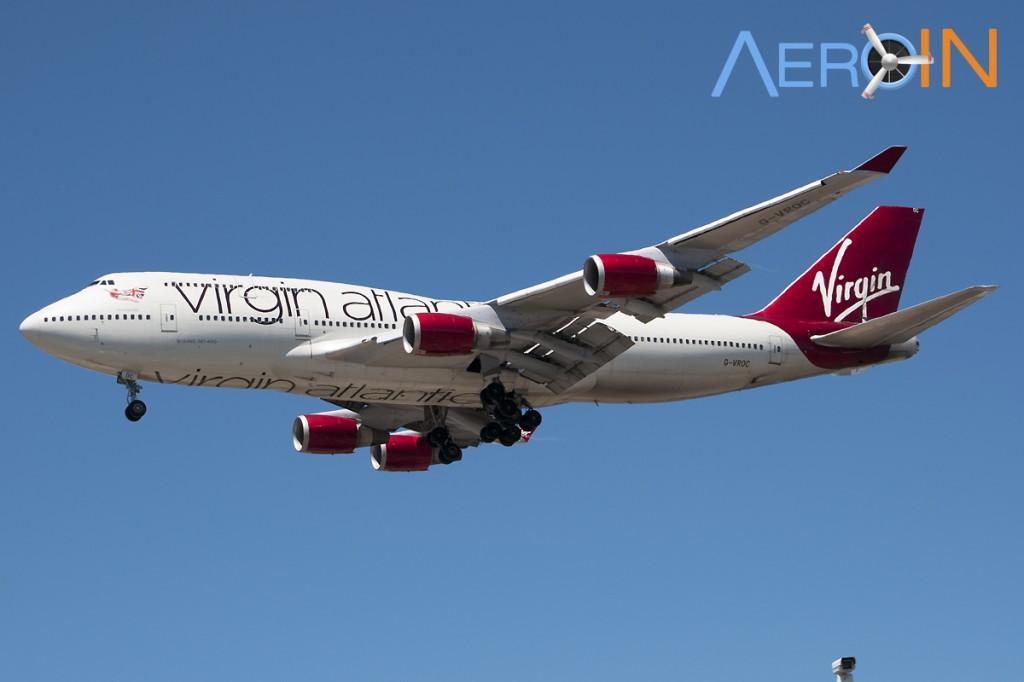 Avião Boeing 747 Virgin Jumbo