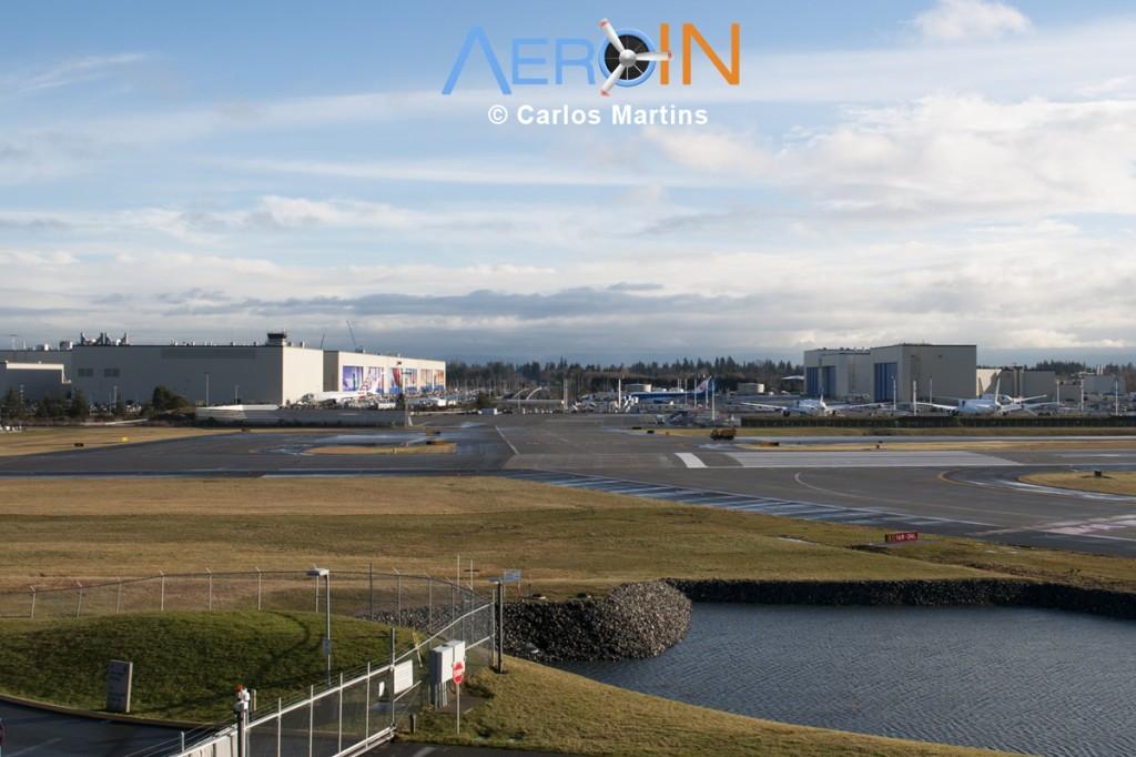 Boeing Factory Everett Paine Field