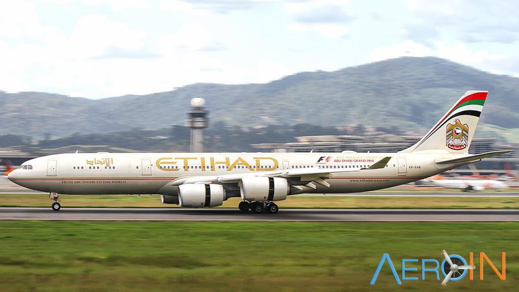 Etihad A340