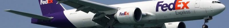 Avião Boeing 777F FedEx