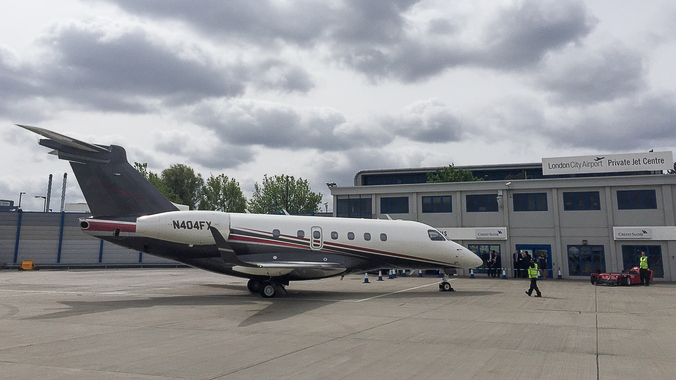 Legacy 500 Flexjet London City