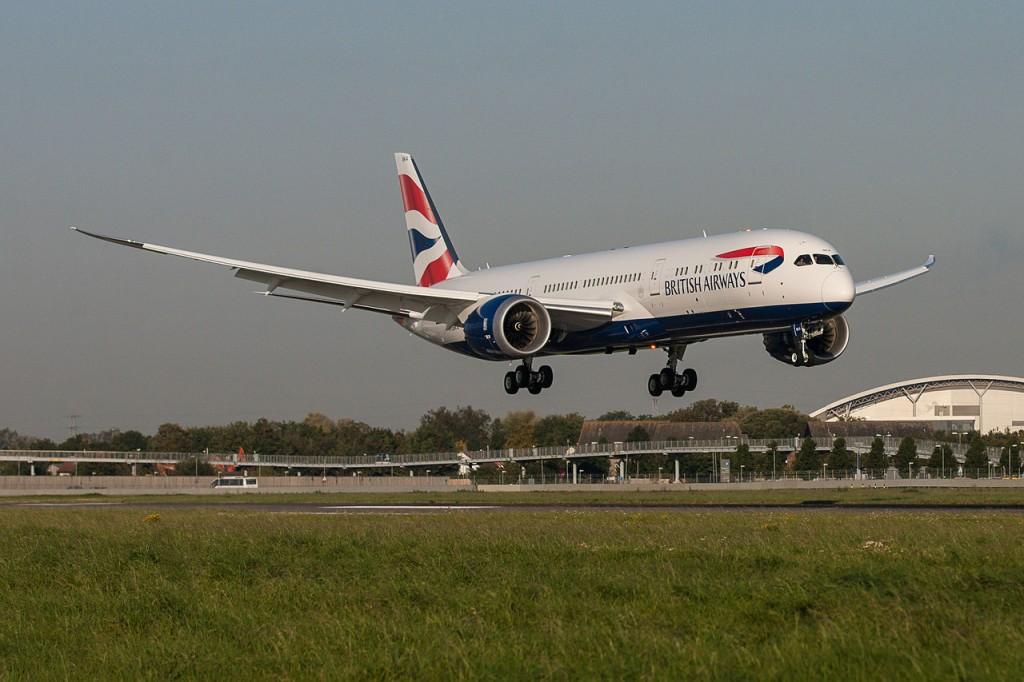 British 787 787-9 BAW