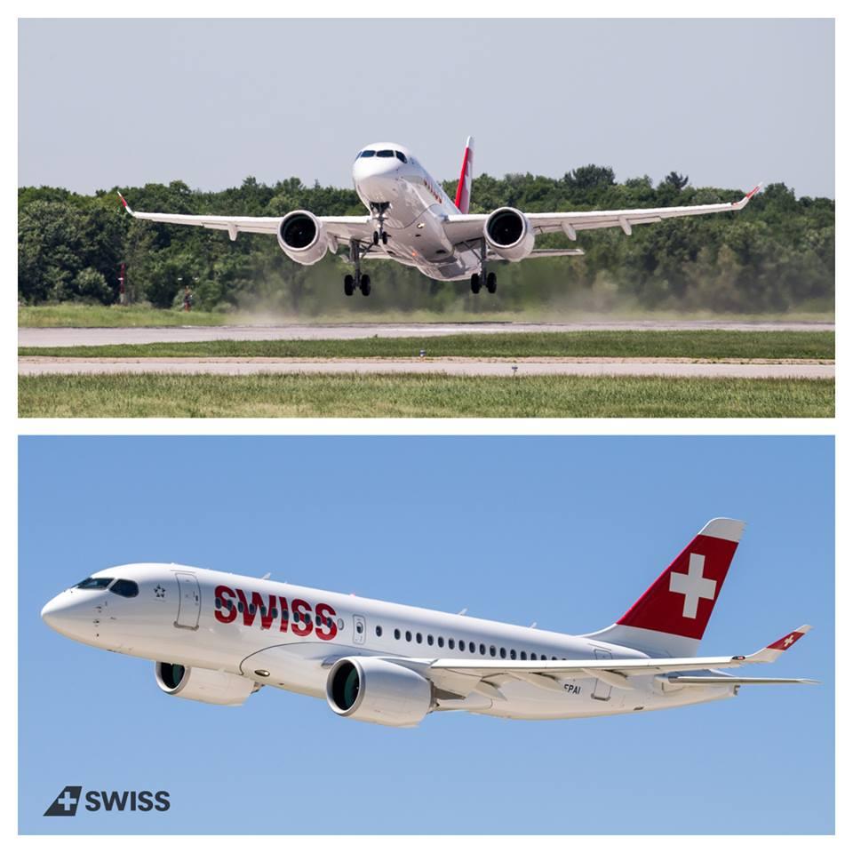 Swiss Bombardier CS100 CSeries