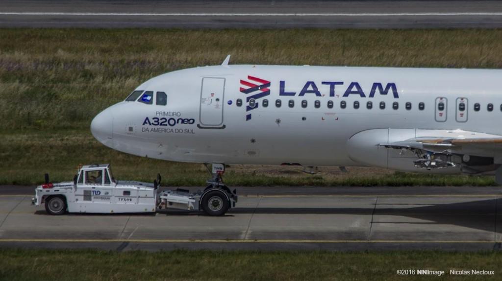 PT-TMN: O Primeiro A320neo da América do Sul