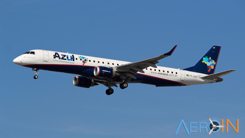 Azul Embraer ERJ 195