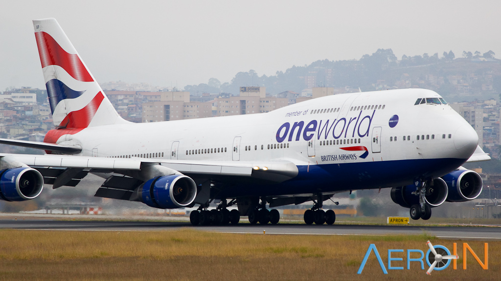 British Boeing 747 One World