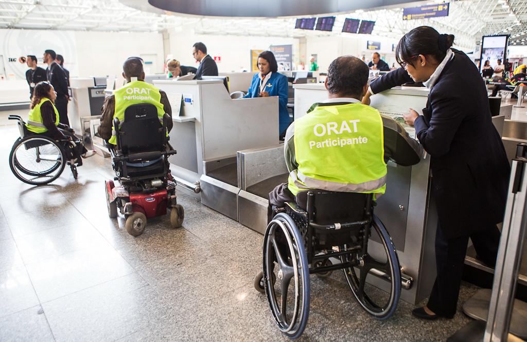 RIOgaleão Acessibilidade Check-in