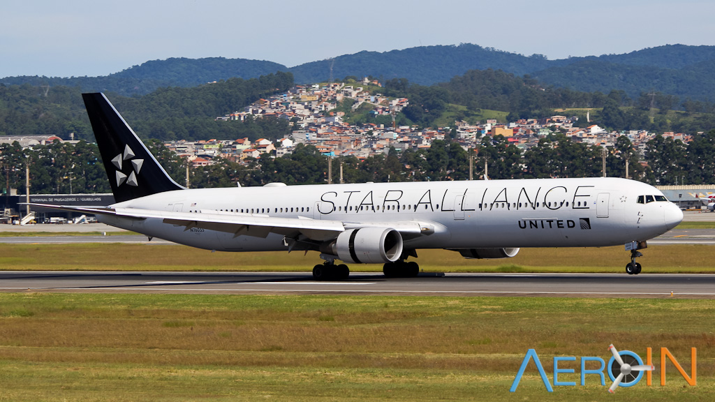 United 767 Star Alliance