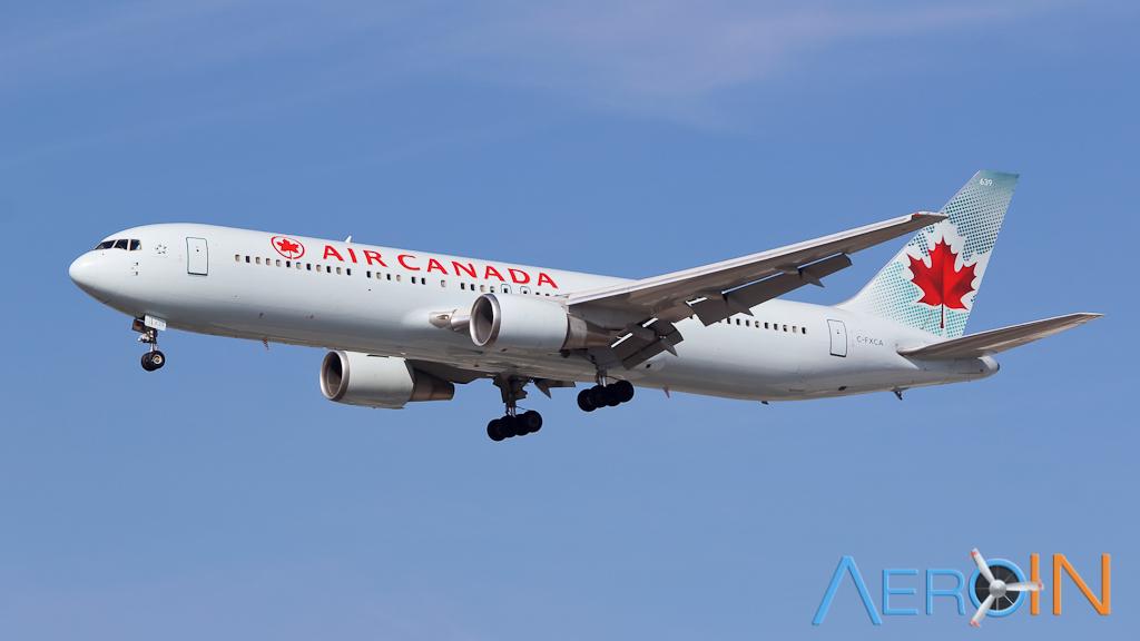 Avião Boeing 767 Air Canada