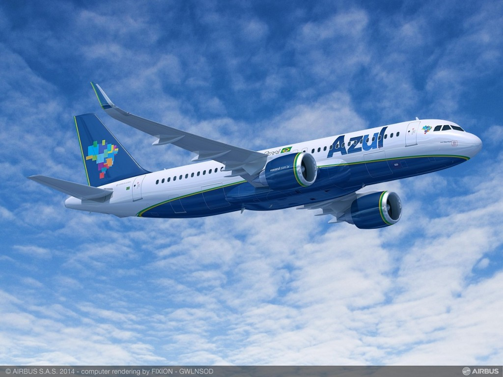 Airbus A320neo Azul