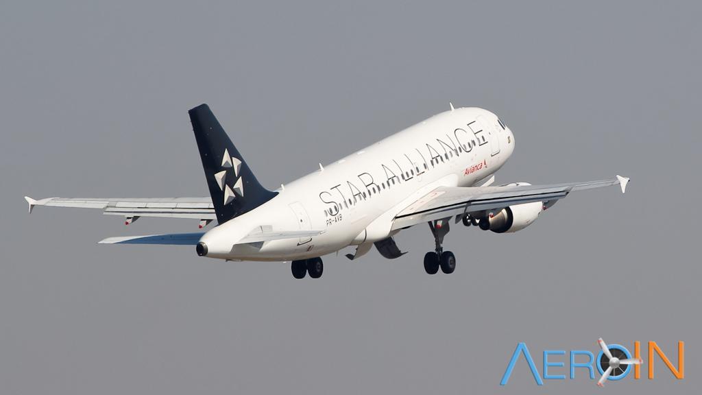 Avianca Airbus A319 Star Alliance