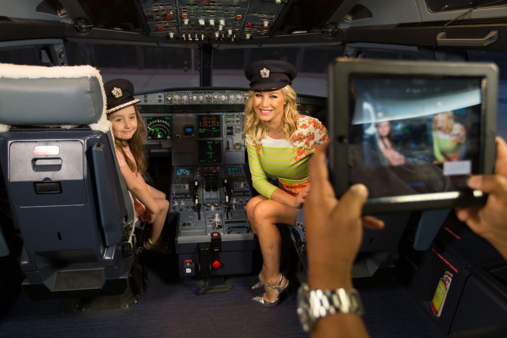 British Airways Cockpit A320