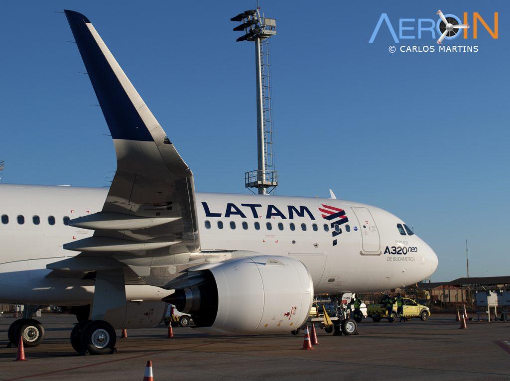 A320neo LATAM Sharklet