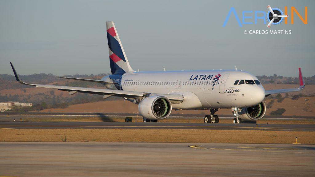 A320neo PT-TMN LATAM CNF