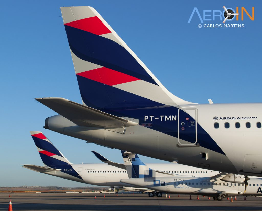A350 A320neo LATAM Tail