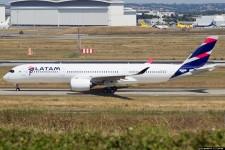 407d8d1d51 Está pronto para entrega o primeiro A350 da LATAM.