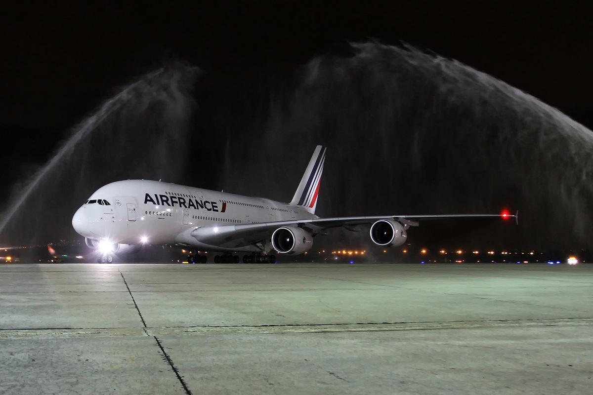 Avião Airbus A380 Air France